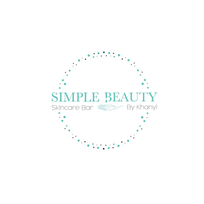 Simple beauty logo with circle-01