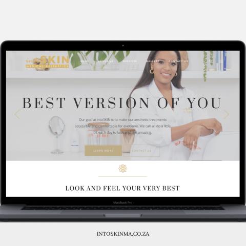 Into Skin Website